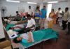 A hospital in rural India