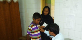 Tuberculosis check-up