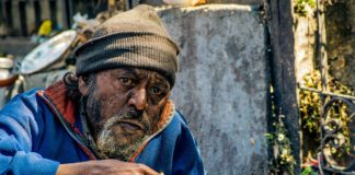 India Poor man